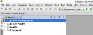 salesforce-android-studio-project
