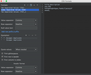 intellij-configure-export-format